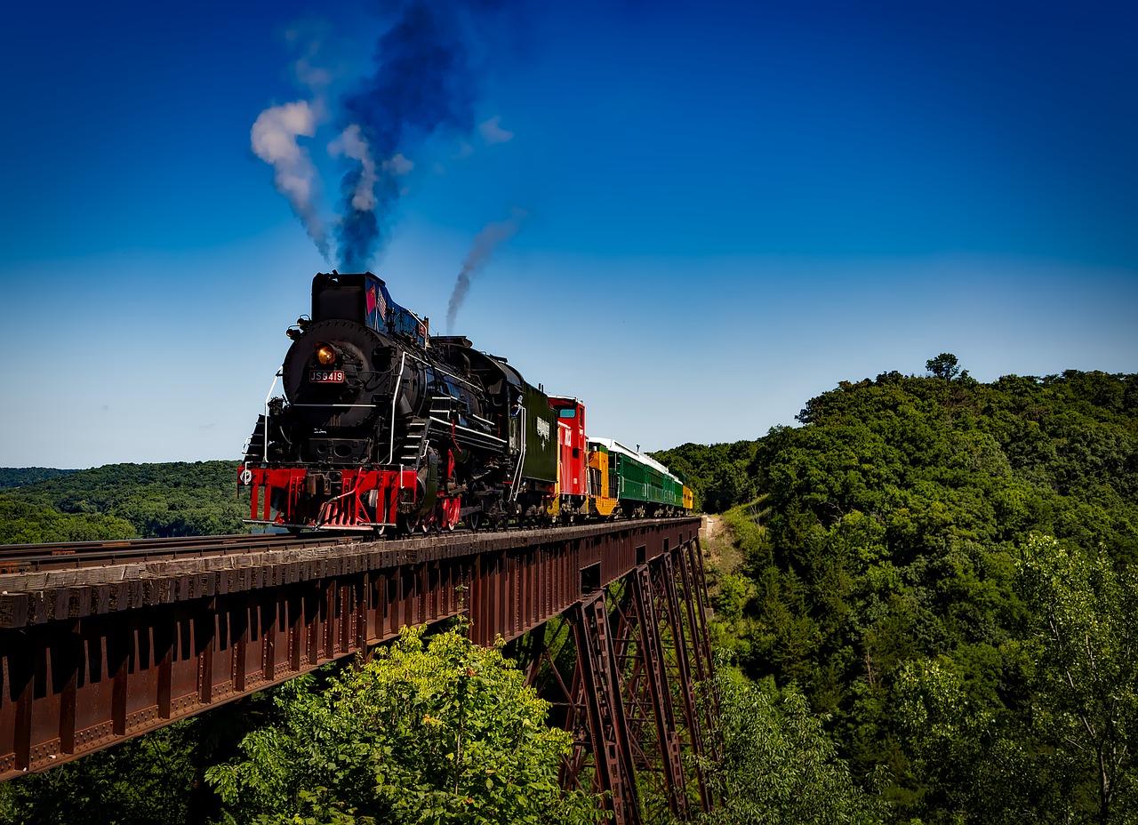 Le train au Brésil